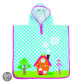 lief! - Poncho Little House - Blauw