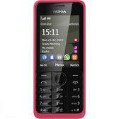 Nokia 301 - Rood/Roze