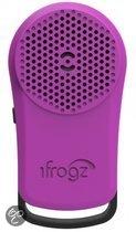 iFrogz Tadpole Wireless Bluetooth Speaker Purple