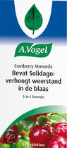 A. Vogel Cranberry Monarda - 30 st - Tabletten