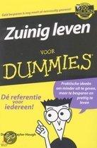 Voor Dummies - Zuinig leven voor Dummies