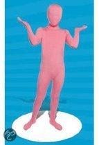 Roze morphsuit voor kinderen 8-10 jaar (140)