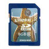 Kingston Securedigital Memory 8 GB Ultimate Flash Geheugenkaart G2 - Class 6