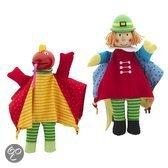 Imaginarium Marionette Principe&Drago - Handpoppen van stof en hout