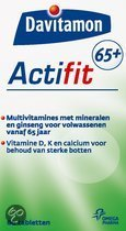 Davitamon Actifit 65+ - 60 Tabletten -  Voedingssupplement