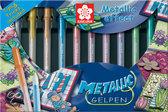 Metallic Set - 10 Gelpennen