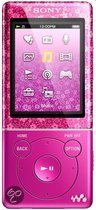 Sony NWZ E474 - Walkman Video MP3 speler 8 GB - Roze