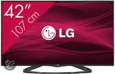 LG 42LA6608 - 3D led-tv - 42 inch - Full HD - Smart tv