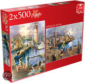 Fishing By The Sea 2in1 - Legpuzzel