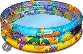 Bestway Opblaasbaar Zwembad 3 Rings - 102x25 cm - Ocean Life