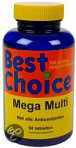 Best Choice Mega Multi - 30 Tabletten