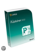 Microsoft Microsoft Publisher 2010 - Engels / Licentie/ Download