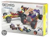 Geomag Raceauto's 3, 52 stukjes