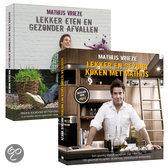 Combi-pack Lekker eten en gezonder afvallen en Lekker en gezond koken met Mathijs Vrieze, M.