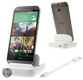 qMust Desktop Dock HTC One (M8) (white)