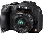 Panasonic Lumix DMC-G6 + 14-42mm PowerZoom - Systeemcamera - Zwart