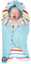 Wallaboo - Baby wrapper Jolie - Sky Blue