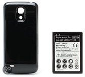 qMust Extended Battery Pack voor de Samsung Galaxy S4 mini 6200mAh (black)