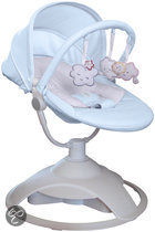 Red Castle - CLOUDZZ Baby Bouncer - Blauw