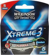Wilkinson Sword Xtreme 3 - 5 stuks - Scheermesjes