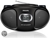 Philips AZ305/12 - Radio/Cd-speler - Zwart