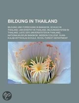 Bildung in Thailand