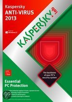 Kaspersky Anti-Virus 2013 - Benelux / 3 PC's / 1 jaar / DVD