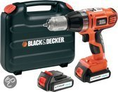 BLACK+DECKER Accu Klopboormachine ASL148KB - 14.4V 1,3 Ah Li-Ion - Incl. 2e accu