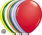 Benza - Ballon, Ballonnen Neutraal Uni Kleuren - Assorti (100 stuks)