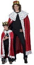 Koning cape voor kinderen 164