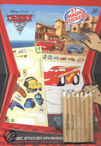 Cars 2 Magische Sticker Tekenset
