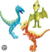 Dinosaurus Trein  Verzamel pakket - Delek, Ollie, Meneer P.