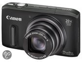 Canon PowerShot SX260 HS - Zwart