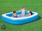Bestway Opblaasbaar Zwembad 2 Rings  - 201x150x51 cm - Familie