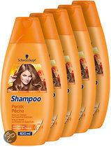 Schwarzkopf Perzik - 5 x 400 ml Voordeelverpakking - Shampoo