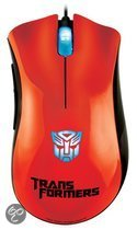 Razer DeathAdder Gaming Muis Optimus Prime Transformers Oranje PC - Limited Edition