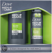 Dove Men+Care Extra Fresh Pack - 2 delig - Geschenkset
