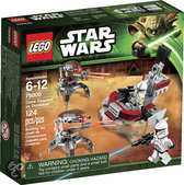LEGO Star Wars Clone Trooper vs. Droidekas - 75000