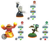 Skylanders Giants Adventure Pack Eruptor, Stealth Elf, Terrafin Wii + PS3 + Xbox360 + 3DS + Wii U + PS4