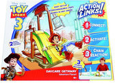 Toy Story 3 Action links stuntset (met 1 figuur)