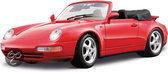 Bburago Porsche 911 Carrera Cabrio