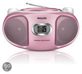Philips AZ105C/12 - CD-speler - Roze