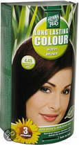 Hennaplus Long Lasting Colours 4.45 Warm Brown