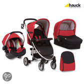 Hauck - Malibu All in One Kinderwagen - Caviar/Tango