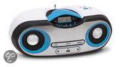 Radio en CD speler - Wit / Blauw