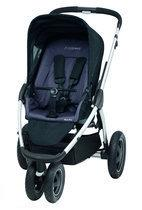 Maxi Cosi Mura Plus 3 - Wandelwagen 2013 - Total Black