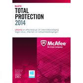 McAfee Total Protection 2014 - Nederlands / Upgrade / 3 Gebruikers