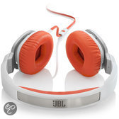 JBL J55i - On-ear Koptelefoon - Wit / Oranje