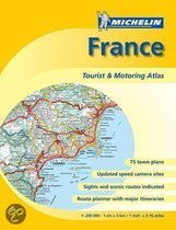 Michelin France Tourist & Motoring Atlas