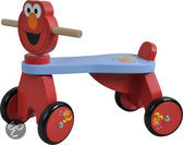 Houten 4 wieler Sesamstraat Elmo